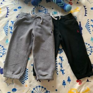 Ralph Lauren toddler boy sweatpants ( set of two )